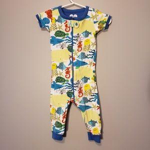 Children's Place 6-9 month zip up short sleeve